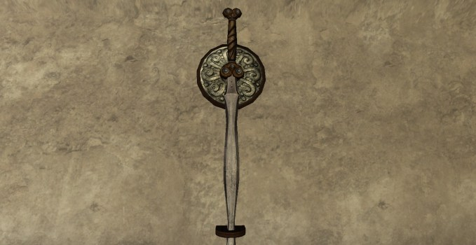Wall-Mounted Greatsword of the Vales
