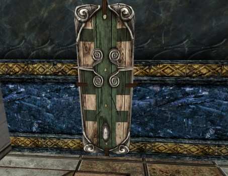 Wall-Mounted Captain's Shield of the Vales