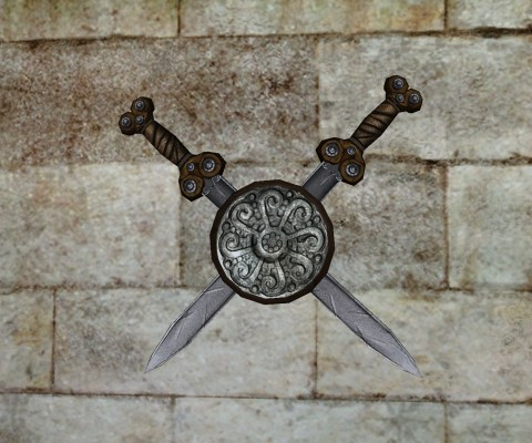 Wall-Mounted Sword of the Vales