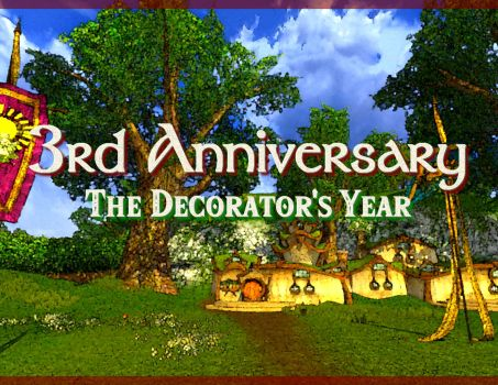 3rd Anniversary – The Decorator's Year