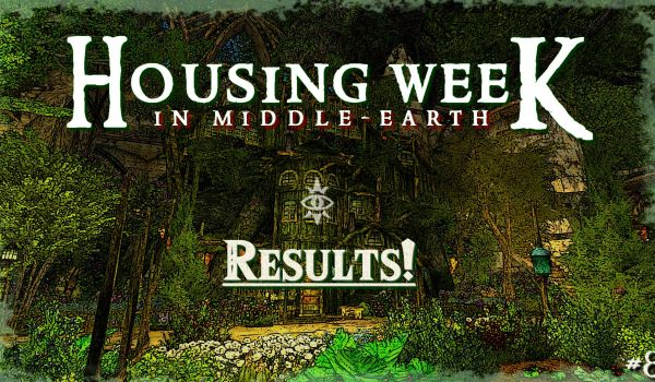 Housing Week in Middle-Earth #8 : Results !