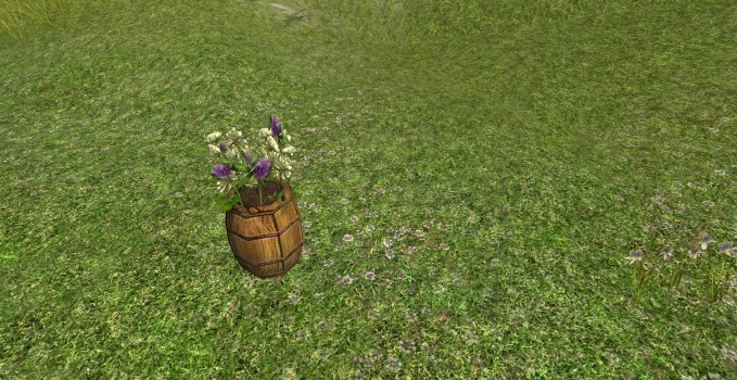 Barrel of Wild Clover