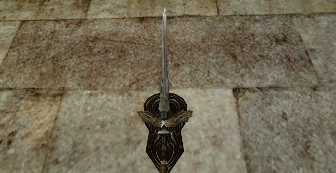Wall-Mounted Sword of Minas Ithil