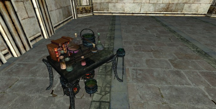 Small Alchemy Table