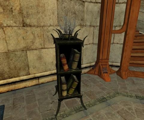 Morgul Vale Lost Lore Bookcase