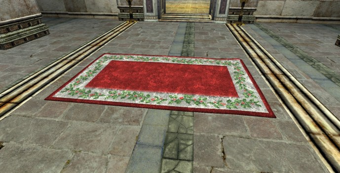 Decorative Yule-Rug