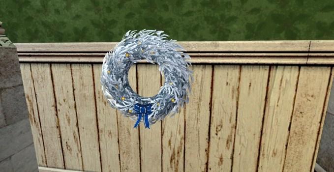Silver Yule-Wreath