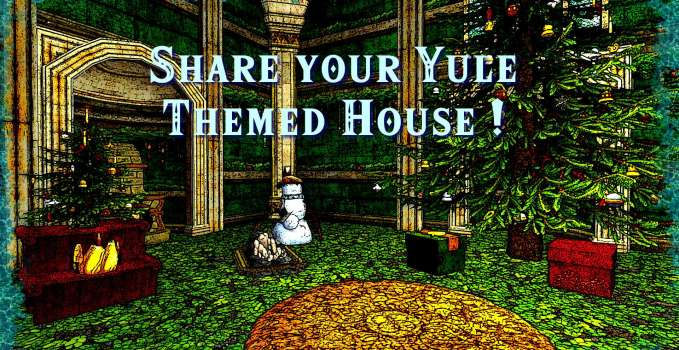 Share your Yule-Themed House!