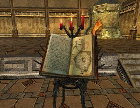 Book Stand – Chronicle of the Third Age