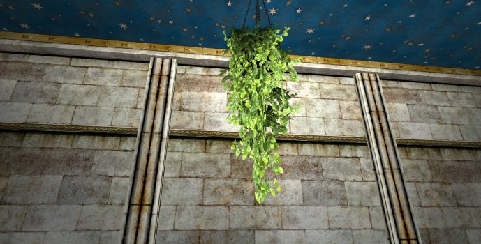 Hanging Pot of Verdant Ivy