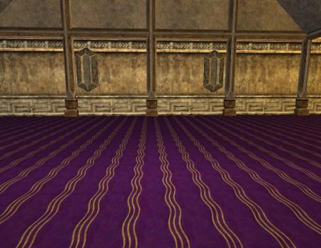 Fancy Purple Carpet – First Style