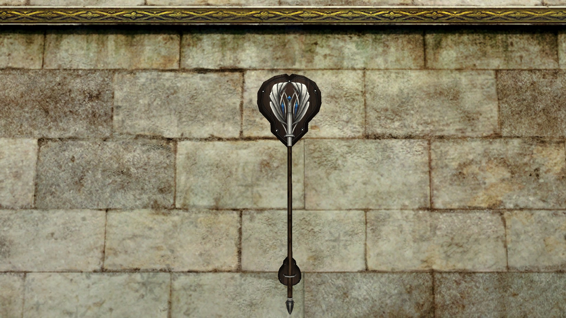 Wall-Mounted Staff of the Remmorchant