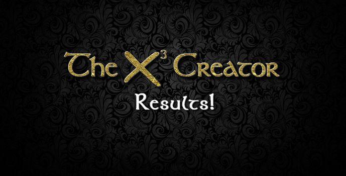 Results : X³-Creator Contest