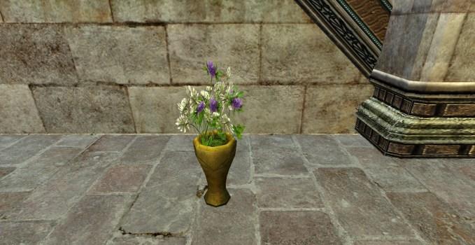 Vase of Wild Clover