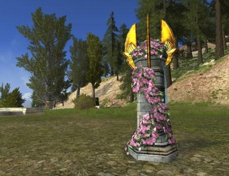 Golden-Winged Column