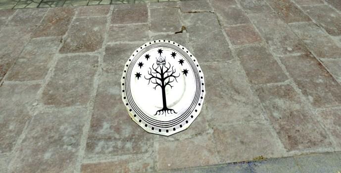 Gondorian Serving Platter
