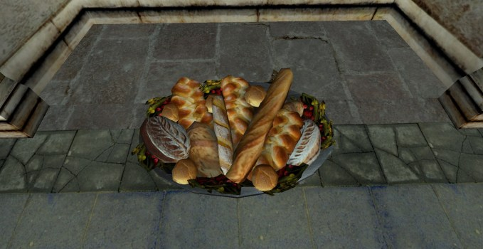 Platter of Bread