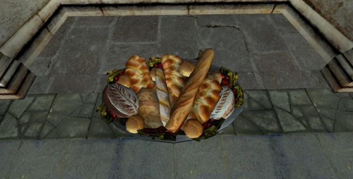 Platter of Bread