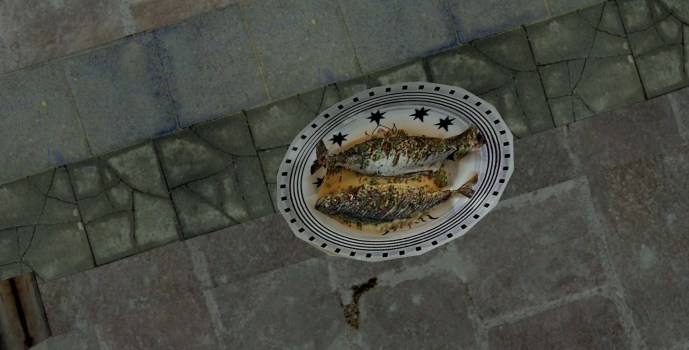 Platter of Roast Pike