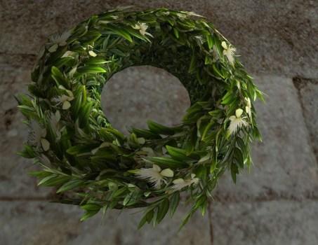 Myrtle Midsummer Wreath