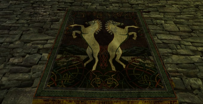 Rearing Horses Tapestry