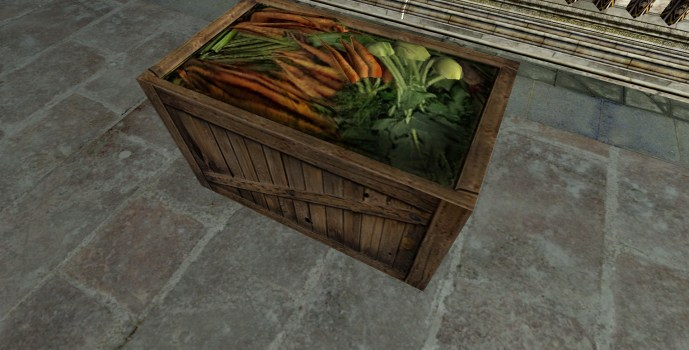 Crate of More Vegetables