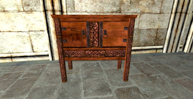 Small Rich Rohirric Sideboard