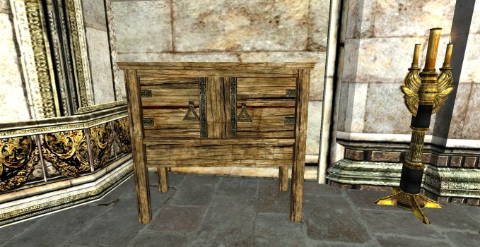 Small Simple Rohirric Sideboard