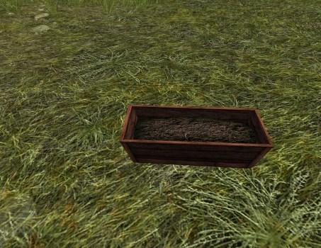 Empty Raised Planter