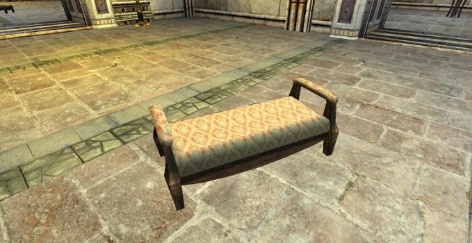Gammer's Best Hall Bench