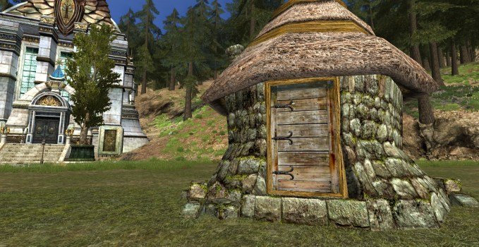 Woodcutter's Stone Outbuilding