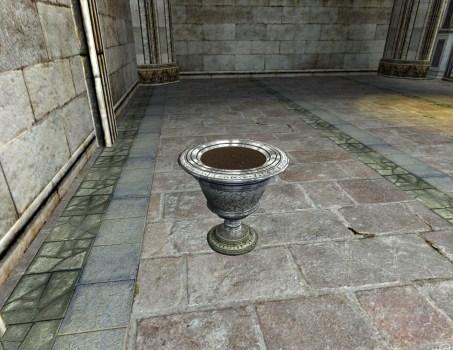 Silver Wedding Urn