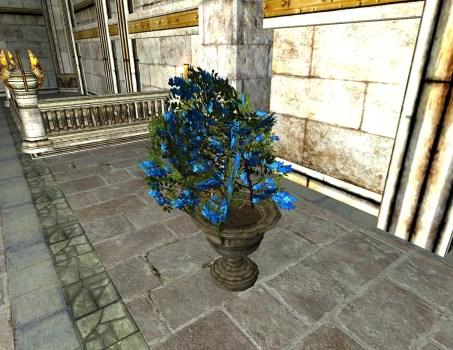 Midsummer Flower Planter – Blue Flowers