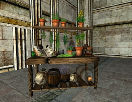 Herbalist Table