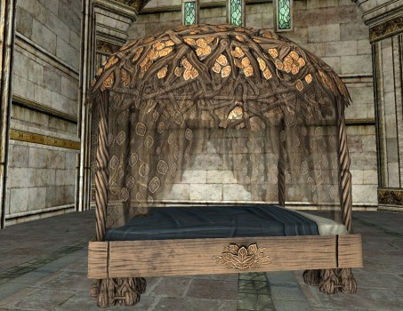 Bed of the Weaving Wood
