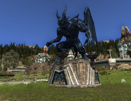 'Durin's Bane' Obsidian Statue