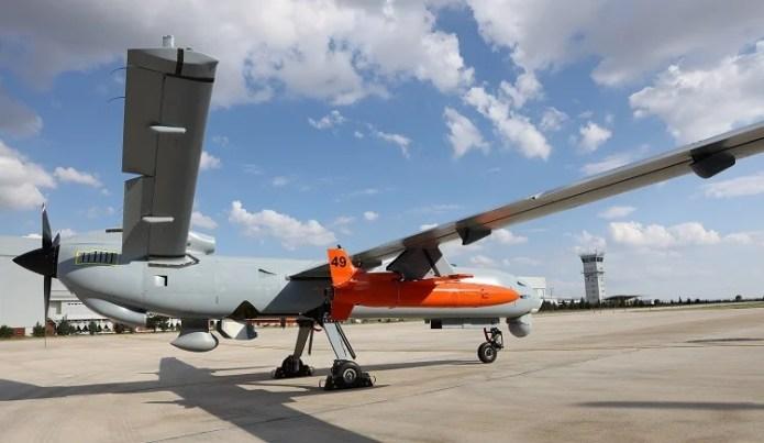 ŞİMŞEK target drone system integrated into ANKA UAV   English Defence News