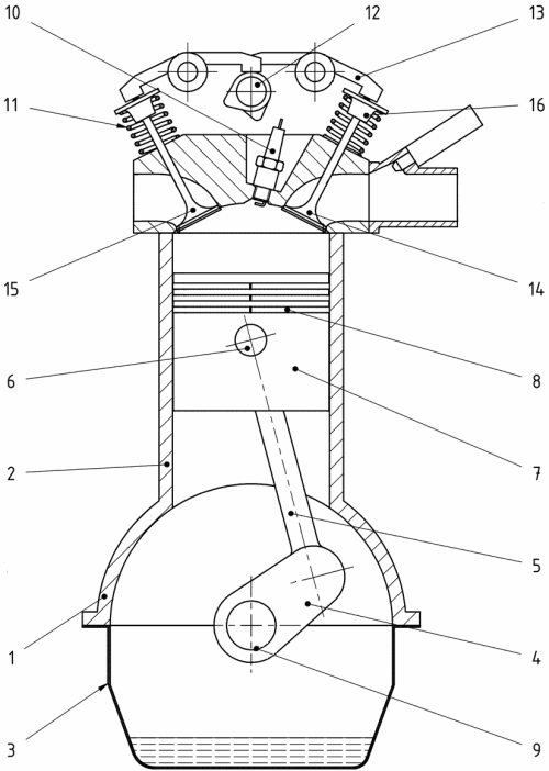 small resolution of schematic of a heat engine
