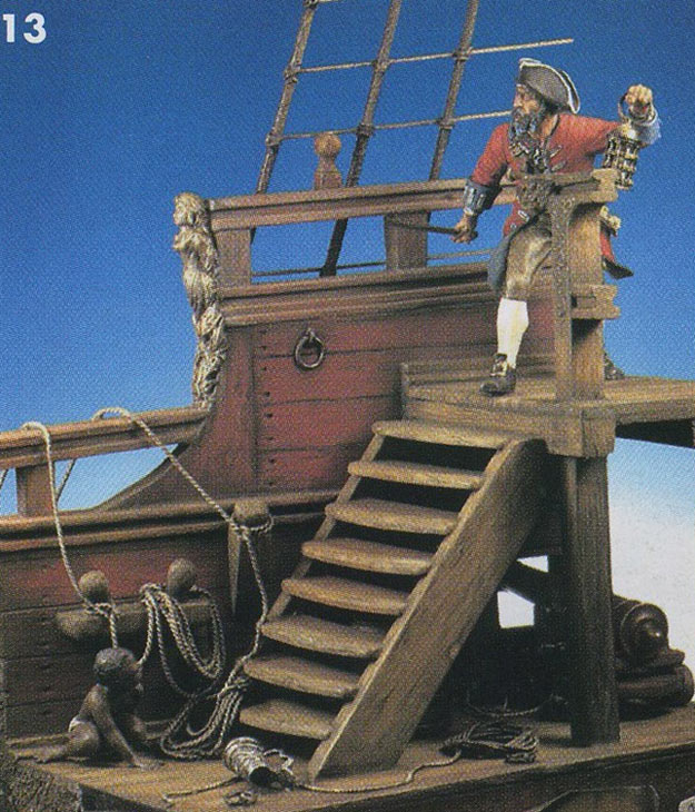 Photo 4  Pirate Ship  Dioramas and Vignettes  Gallery