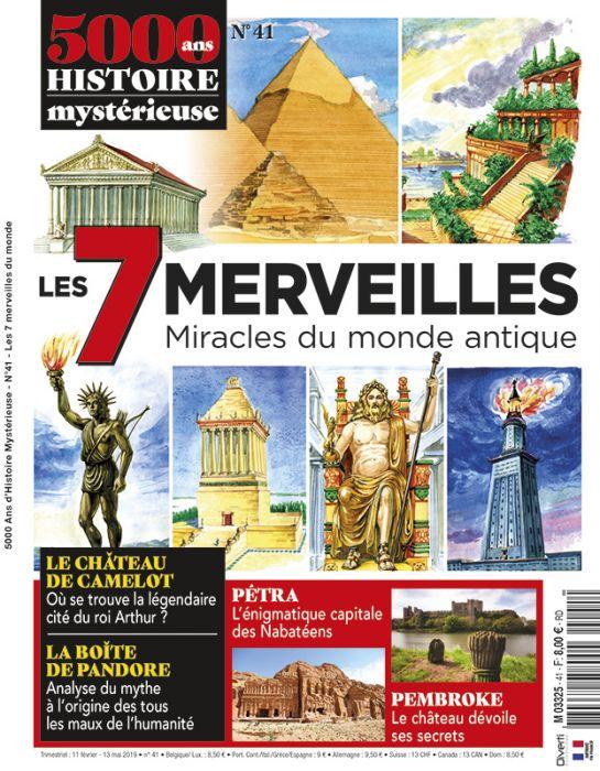 7 Merveilles Du Monde Antique : merveilles, monde, antique, Merveilles, Miracles, Monde, Antique, Histoire, Mystérieuse