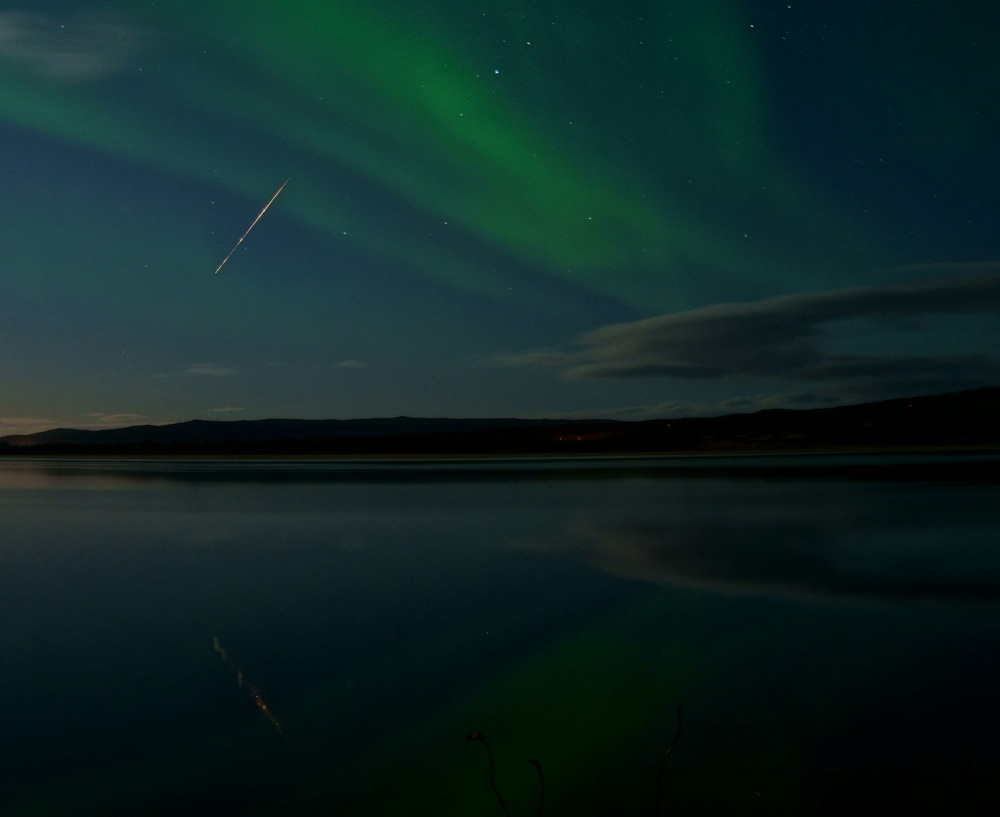 The October 8 2011 Draconid meteor shower  Space  EarthSky