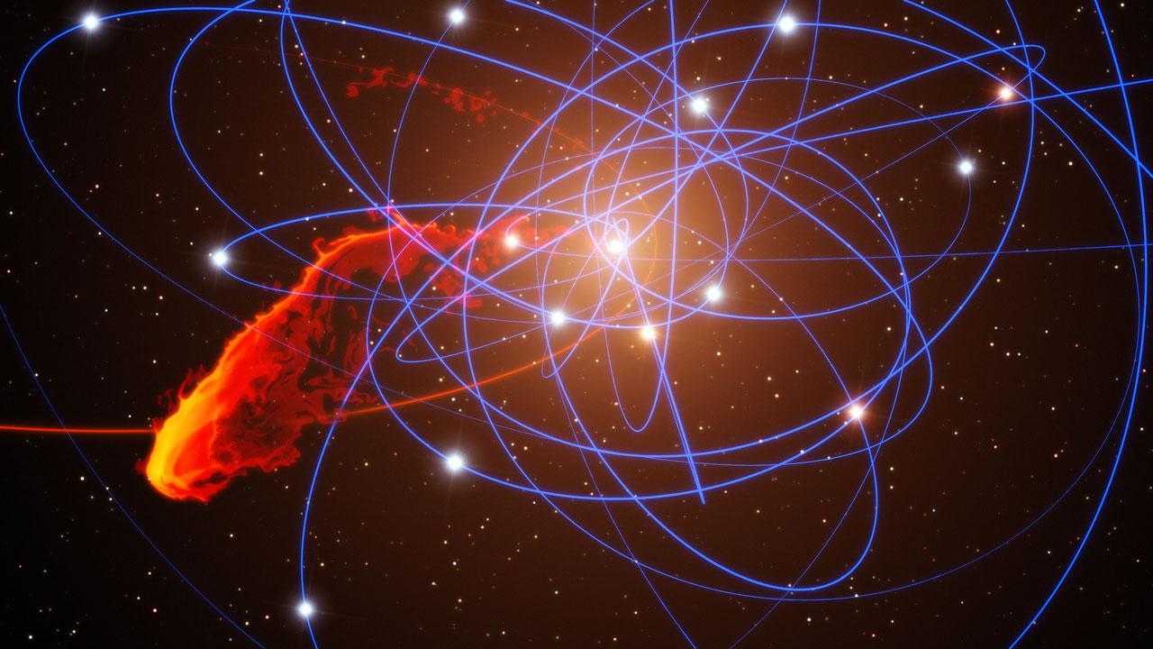 Image via ESO/MPE/Marc Schartmann