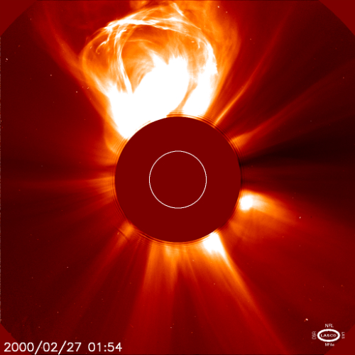 Image result for Coronal mass ejection