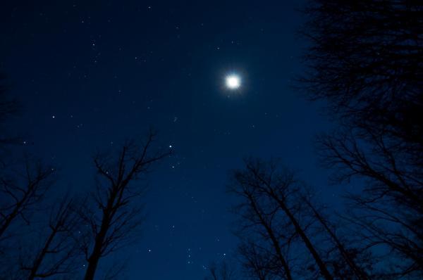 Jupiter From Earth Moon