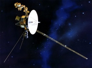 Voyager I, artist's interpretation.  NASA image