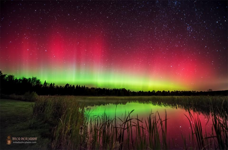 Northern Lights Maine Tonight