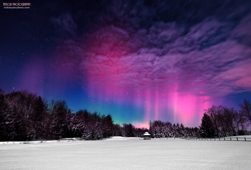 Northern Lights Moon Phases