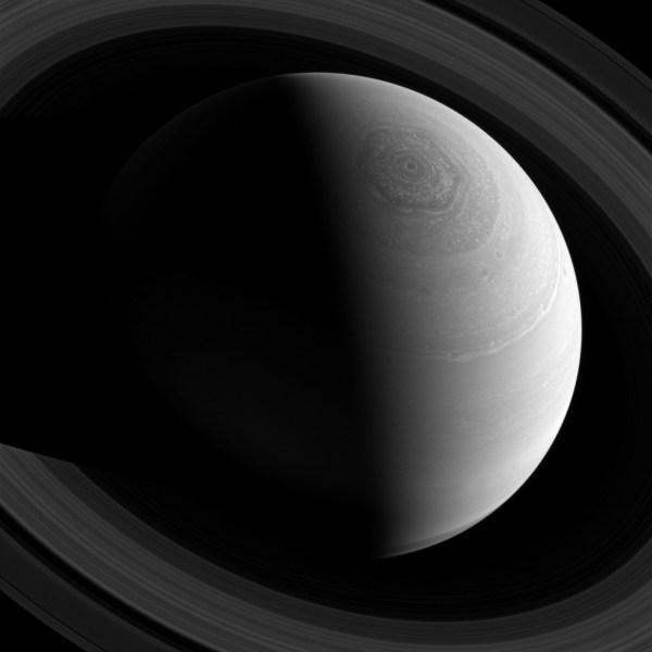Amazing Of Saturn' Hexagon Earthsky Space