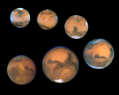 Mars,  via Hubble Heritage Project
