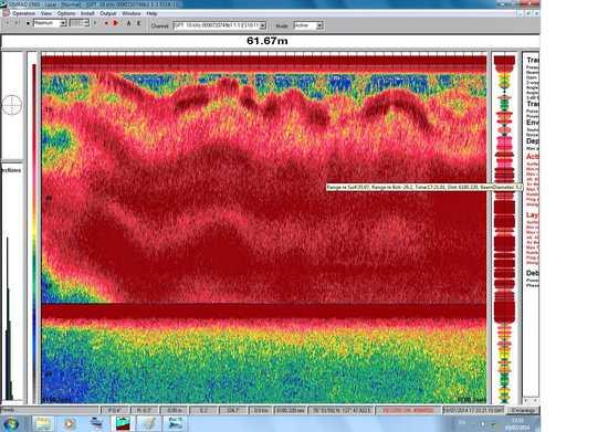 Mega methane event.  Image via University of Stockholm via Daily Kos.